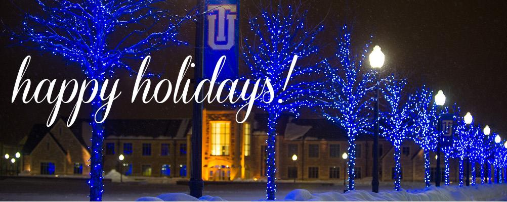 Happy Holidays from the TU Alumni Association