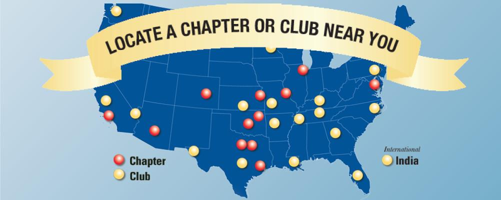 Locate a Chapter or Club Near You!